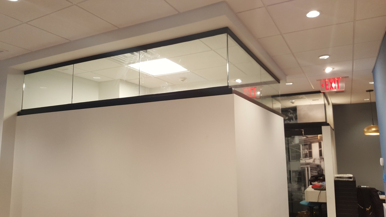 Transom Glass for Office Space