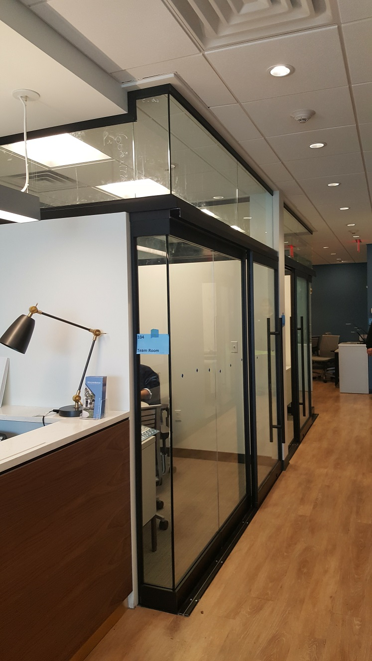 Glass Office Sliding Doors