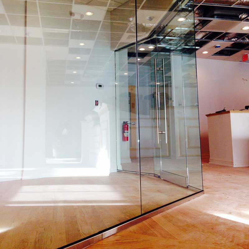 Office Glass Walls, Door, and sidelite