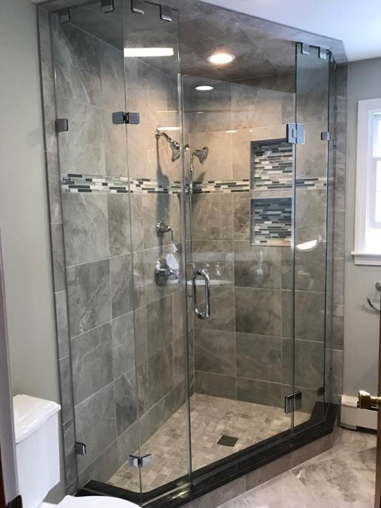 Glass Corner Shower Doors