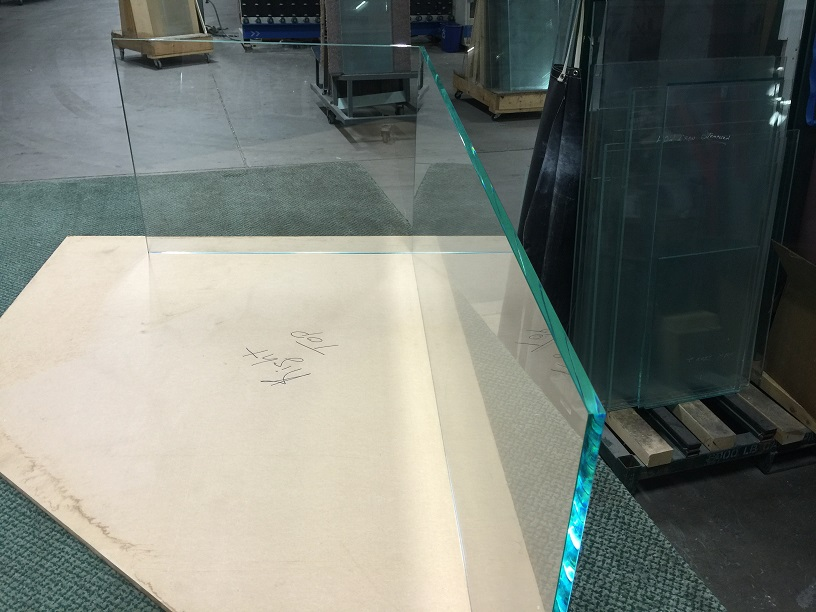UV Bonded Glass