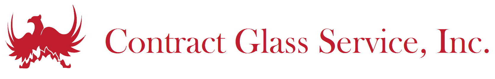 Contract Glass Logo Massachusetts