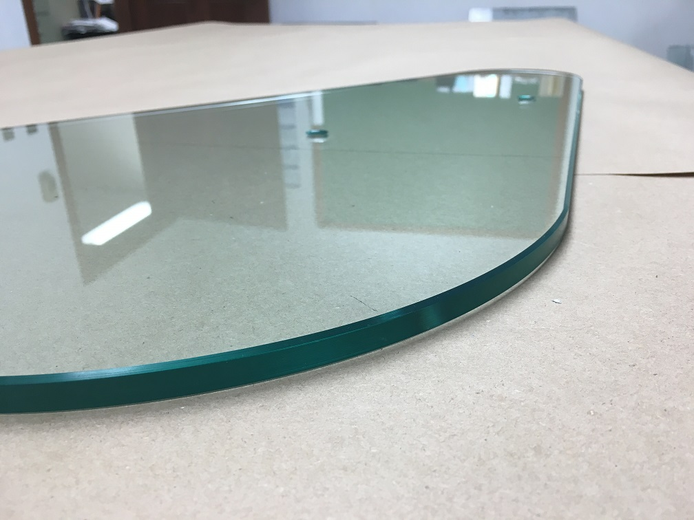 Curved Polished Glass