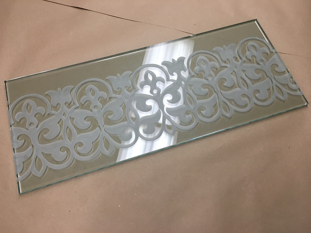 Fancy Etched Glass
