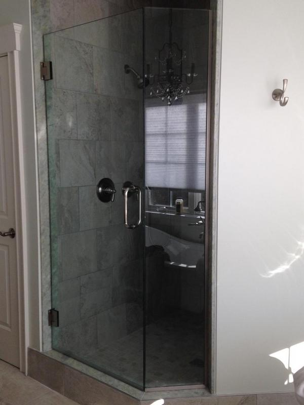 Custom shower doors